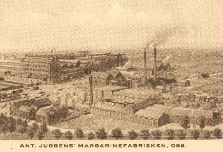 Jurgens margarinefabriek Oss